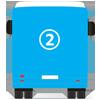 Publicidade Traseira Integral Aveirobus